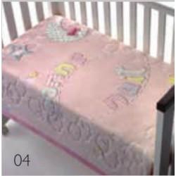 MORA detská deka LUXURY PLUS 043,110x140 cm