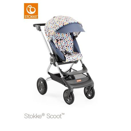 STOKKE Scoot Style kit retro dots