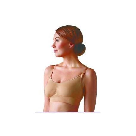 CARRIWELL Bezšvová podprsenka na kojenie telová