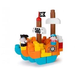 CHICCO Stavebnica 3v1 Piráti