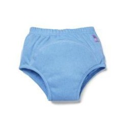 BAMBINO MIO Učiace plienkové nohavičky Modré