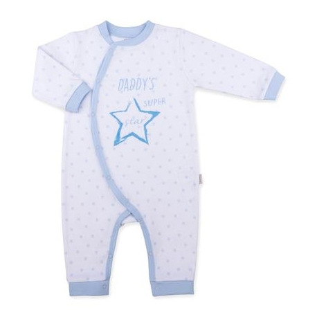 KITIKATE Overal Dreams Mummy and Daddy, White-Blue