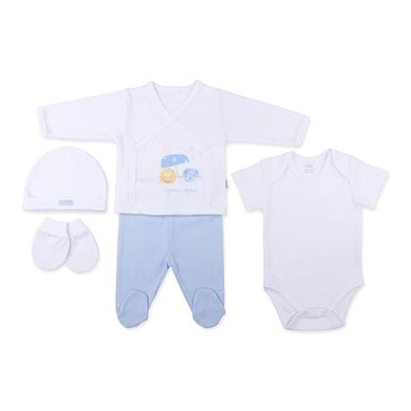 KITIKATE Novorodenecký 5-dielný set Dreams, Modrý