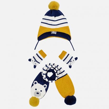 MAYORAL Set čiapka + šá +l rukavice