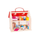 GOKI Prenosný domček pre bábiky, 24 dielov