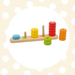 GOKI Základné tvary na doske s číslami