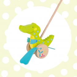 GOKI Zvieratko na tyči Krokodýl Susibelle