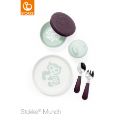 STOKKE Set na jedenie Everyday Soft Mint