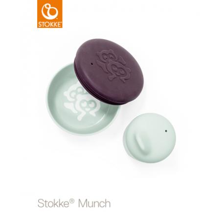 STOKKE Miska + pohárik Soft Mint