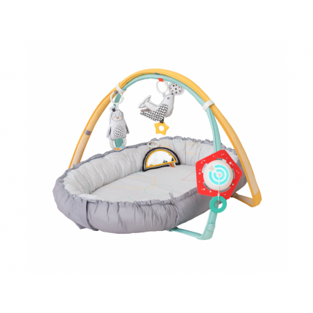 TAF TOYS Hracia deka a hniezdo s hudbou pre novorodencov
