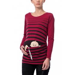 MAMIMODE Tričko s motívom BABY FLUCHT