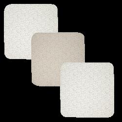 BÉBÉ JOU Mušelínová plienka 70 x 70 cm set 3 ks Fabulous Dots