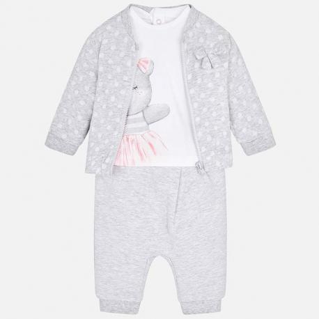 91b7683f7b82 MAYORAL Mikina + tepláky + tričko Perla - BabyMarket