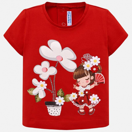 e7d5f30700a4 MAYORAL Tričko s krátkym rukávom Rojo - BabyMarket