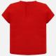 MAYORAL Tričko s krátkym rukávom Rojo