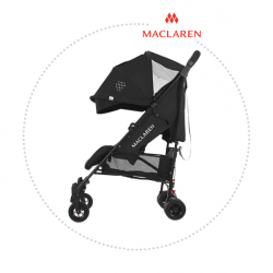 MACLAREN Kočík QUEST ARC Black/Black