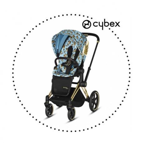 CYBEX PRIAM Jeremy Scott CHERUB BLUE - športový kočík