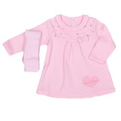 KITIKATE Šaty + pančuchy Pink