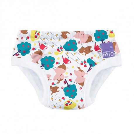 BAMBINO MIO Učiace plienkové nohavičky Puddle Pigs