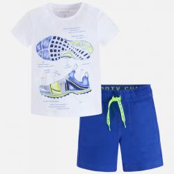 MAYORAL Set kraťasy + tričko s teniskou