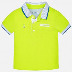 MAYORAL Tričko zelené Polo s kotvou