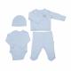KITIKATE Novorodenecký Set Blue