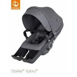 STOKKE Xplory/Trailz V6 športová časť black melange, bez podvozku a madla