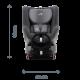 ROMER-BRITAX Dualfix 2 R autosedačka cosmos black