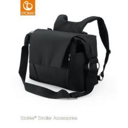 STOKKE Prebaľovacia taška black