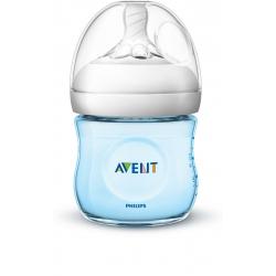 Avent fľaša 125ml Natural.2 PP modrá