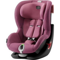 BRITAX-ROMER King II LS black autosedačka wine rose