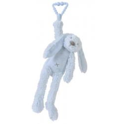 HAPPY HORSE Králik Richie s klipom modrý