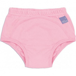BAMBINO MIO Učiace plienkové nohavičky Svetlo ružové 16 a viac kg