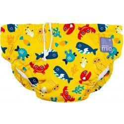 BAMBINO MIO Kúpacie nohavičky, detské plavky Deep See Yellow veľ. M