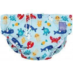 BAMBINO MIO Kúpacie nohavičky, detské plavky Deep See Blue veľ. M