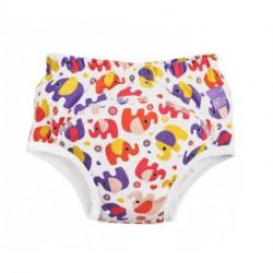 BAMBINO MIO Učiace plienkové nohavičky Pink Elephant 16 a viac kg
