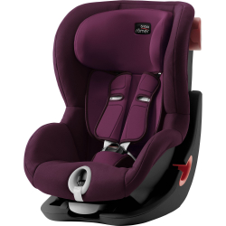 BRITAX-ROMER King II, black Burgundy Red Autosedačka