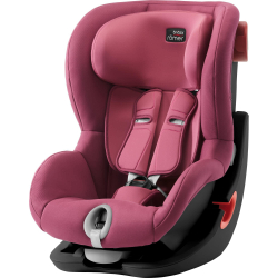 BRITAX-ROMER King II, black Wine Rose Autosedačka