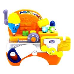 CHICCO Hudobná hračka Stôl s náradím