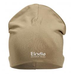ELODIE DETAILS Čiapka Logo Beanies warm sand 6-12m