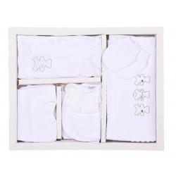 KITIKATE Novorodenecký 10-dielny set Organic White