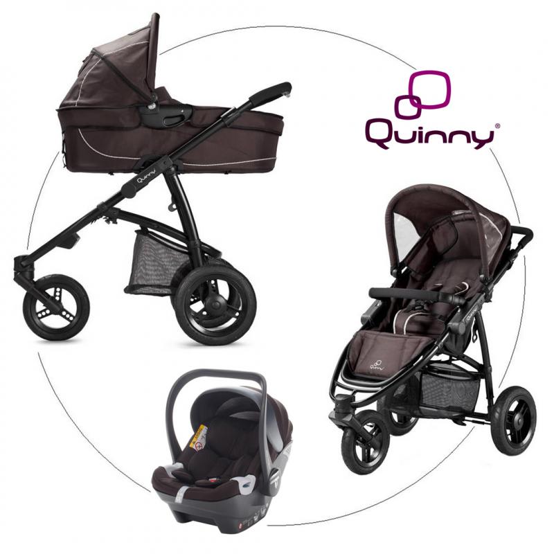 QUINNY Speedi Pack Fast Brown, 3-kombinácia