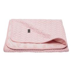 BÉBÉ JOU Detská deka Samo 75 x 100 cm - Fabulous blush pink