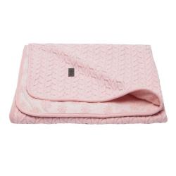 BÉBÉ JOU Detská deka Samo 90 x 140 cm - Fabulous blush pink