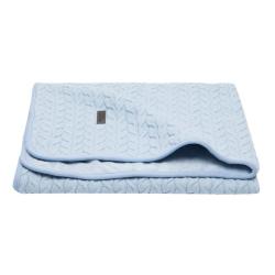 BÉBÉ JOU Detská deka Samo 90 x 140 cm - Fabulous frosted blue