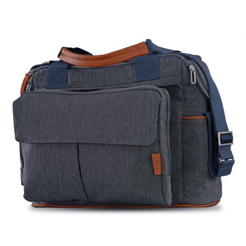 INGLESINA Prebaľovacia taška Dual Bag Aptica village denim