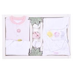 KITIKATE Novorodenecký 10-dielny set Organic Dreams Pink