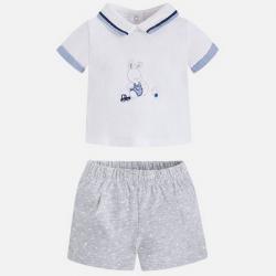 MAYORAL Set tričko + kraťasy Perla Vig č.1-2m