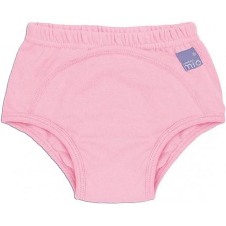 BAMBINO MIO Učiace plienkové nohavičky Svetlo ružové