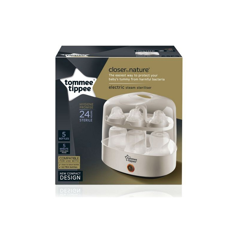 TOMMEE TIPPEE Elektrický parný sterilizátor fľiaš